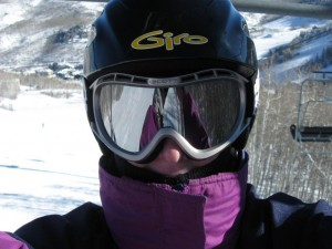 Jackie on Beaver Creek Strawberry lift