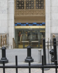 NYSE on Wall St