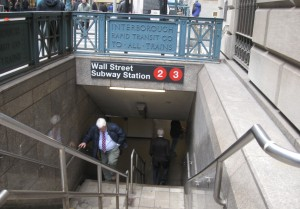 Wal lSt Subway Station