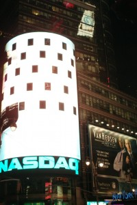 NASDAQ in Times Square New York City