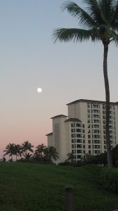 Moonlight over Ko Olina