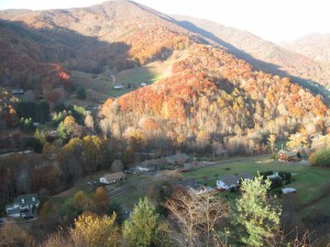 Appalchian Hillside in Autumn