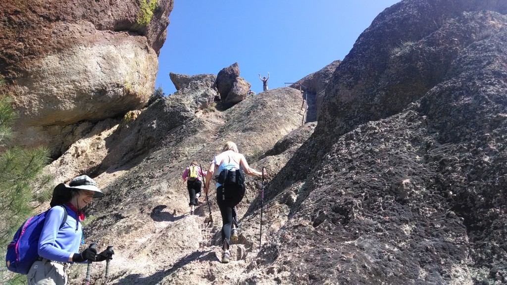 Climbing the Pinnacles