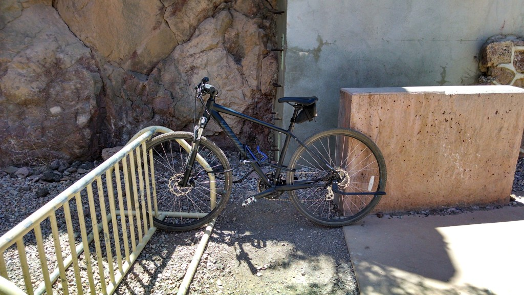 Hoover Dam Bike Lockup